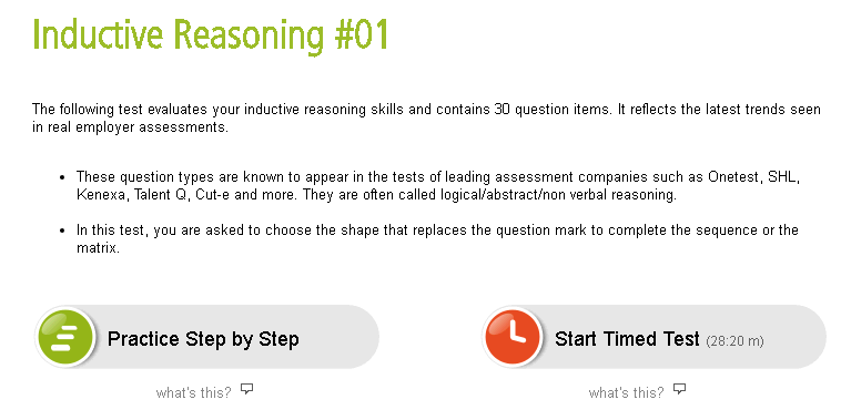 Inductive Reasoning 1