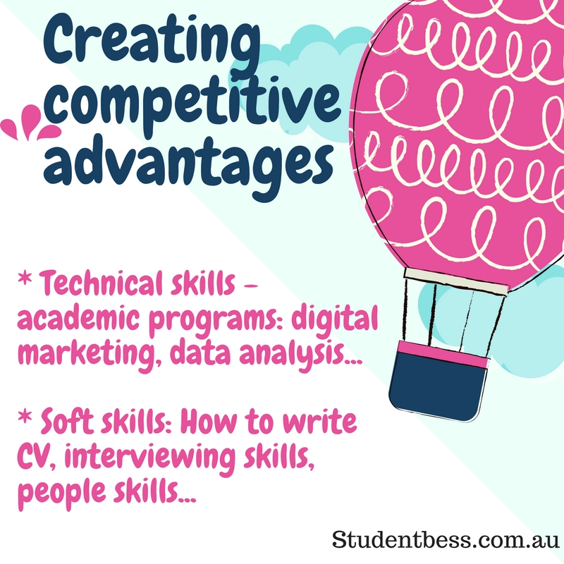 Creating competitive advantages