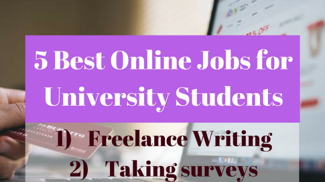 5 Best Online Jobs for University Students (1)